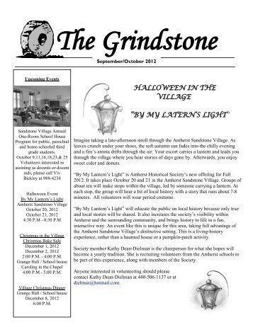 September-October - Amherst Historical Society