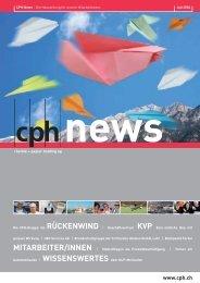 UBV Services AG - CPH Chemie + Papier Holding AG