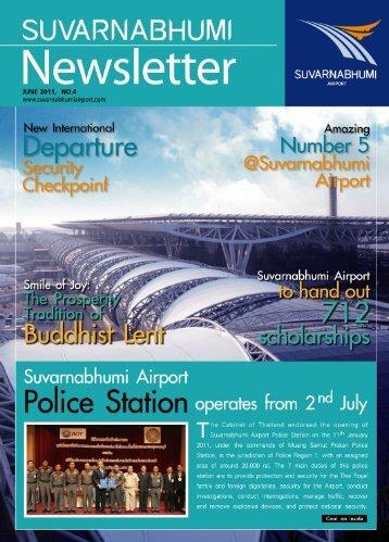 Newsletter June 2011, No.4 - Suvarnabhumi Airport