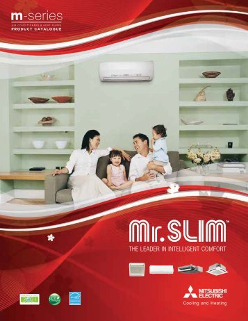 Mr. Slim M-Series Product Catalogue - Mitsubishi Electric Sales ...