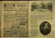 Vasárnapi Ujság 1884. 31. évf. 47. sz. november - EPA
