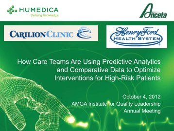 How Care Teams Are Using Predictive Analytics and