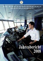 Jahresbericht 2008 - Berufsgenossenschaft für Transport und ...