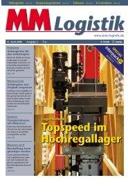 Topspeed im Hochregallager - MM Logistik