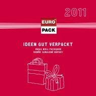 Ideen gut verpackt - Ideas well packaged