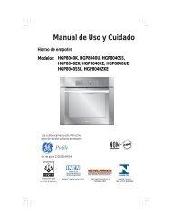 Manual de Uso y Cuidado - Mabe