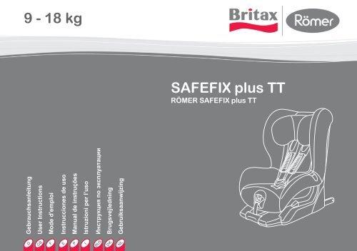 SAFEFIX plus TT 9 - 18 kg - iSiteTV