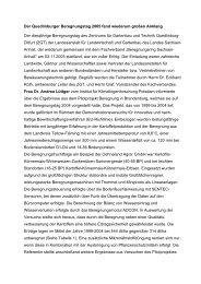 Quedlinburger Beregnungstag 2005 - Sachsen-Anhalt