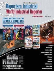 WORLDWIDE - Reportero Industrial