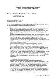 Die Abschaffung des Widerspruchsverfahren - BDVR