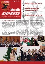 Magazin MVH (PDF / 3.6 MB) - Musikverein Herdringen eV
