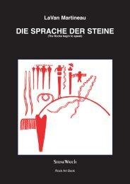 Martineau LaVan - Die Sprache der Steine - www . erratiker . ch