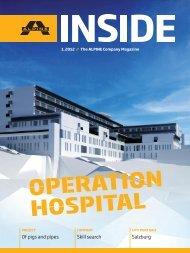 inside 1/2012 - ALPINE Bau GmbH