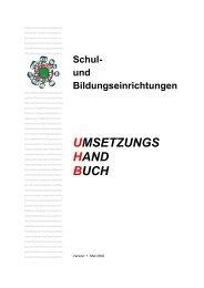 Umsetzung der Kriterien - HTL Wien 10