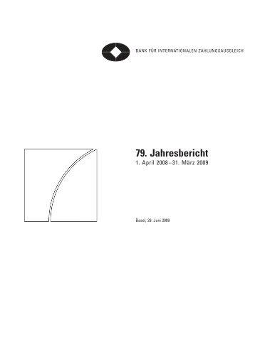 German translation of 79th Annual Report (under ... - NachDenkSeiten