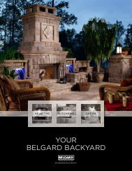 your belgard backyard - Pavers, Retaining Walls, Stone, Anasazi ...