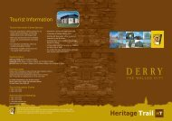 Heritage Trail HT - Discover Northern Ireland