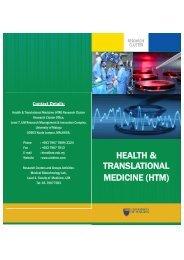 HEALTH & TRANSLATIONAL MEDICINE (HTM) - HTMC