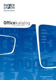 Katalog für Büropapiere - Home: HTL Verpackung GmbH