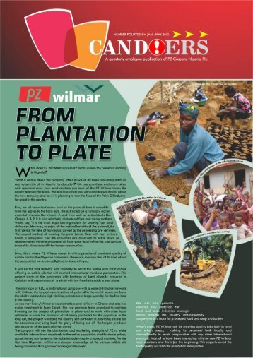 COVER FOR PDF - pz cussons nigeria