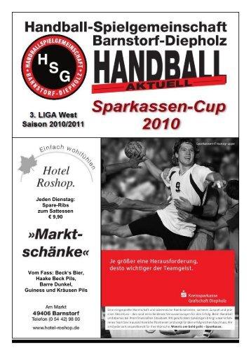 Sparkassen-Cup 2010 - HSG Barnstorf-Diepholz