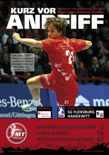 Magazin ansehen - MT Melsungen
