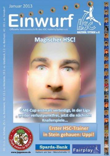 HSC Magazin Januar 2013 - HSC Haltern-Sythen 1992 eV