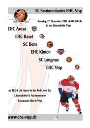 SC Bern EHC Kloten - EHC Visp