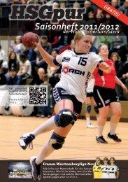 Saisonheft 2011/2012 - HSG KOCHERTÜRN/STEIN