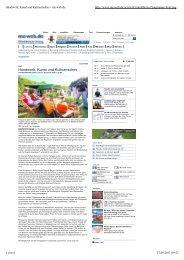 Handwerk, Kunst und Kulinarisches - mz-web.de - Tag der Regionen