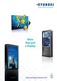 More than just a Display. - Eichmann Electronic AG