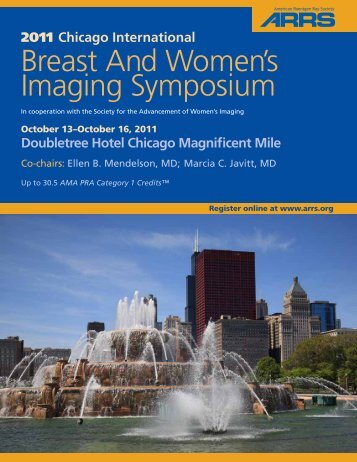 Breast And Women's Imaging Symposium - American Roentgen Ray ...