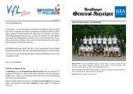 Ausgabe 14 - 2010/2011 | VfL - VfL Pfullingen