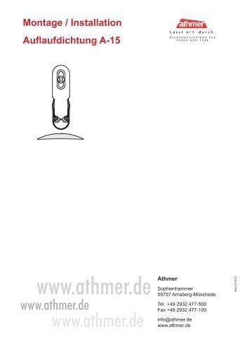 Schall ex ultra einseitig for Athmer rundumdicht