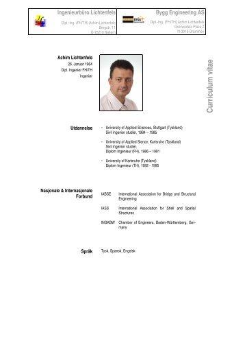 CV-Achim - Bygg Engineering