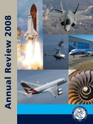 2008 Annual Review - Royal Aeronautical Society