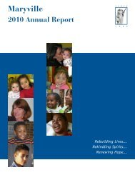 2010 Annual Report - Maryville Academy