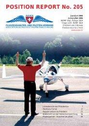POSITION REPORT No. 205 - AOPA Switzerland