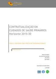 Revisão das Práticas Internacionais em Cuidados de Saúde - OPSS
