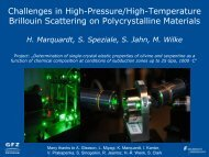 Challenges in High-Pressure/High-Temperature Brillouin Scattering ...