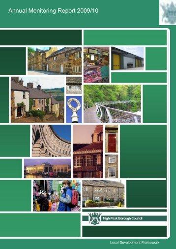 Annual Monitoring Report 2009/10 - High Peak Borough Council