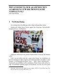 Privatisierung der akademischen Ausbildung für die öffentliche ... - Seite 6