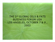 business forum usa los angeles, october 7 - American Palm Oil ...