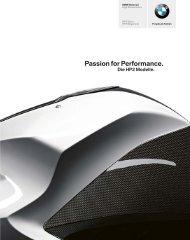 Katalog HP 2 Modelle (PDF, 2,6 MB - BMW Motorrad Österreich