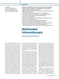 Multimodale Schmerztherapie - dgpsf
