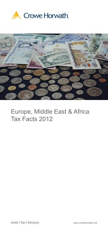 Europe, Middle East and Africa Tax Facts 2012 - Crowe Horwath ...