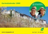 Gartenkalender 2009