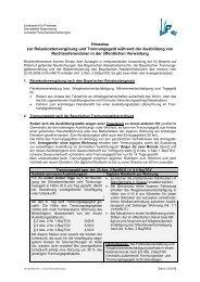 Reisekosten/Trennungsgeld - Regierung der Oberpfalz - Bayern