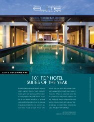101 TOP HOTEL SUITES OF THE YEAR - AWASI