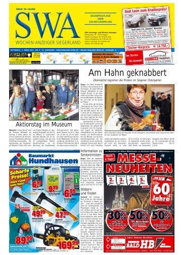 Ausgabe A, Siegen, Wilnsdorf (11.35 MB) - Siegerländer Wochen ...